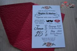 Invitatie nunta Mr. & Mrs.