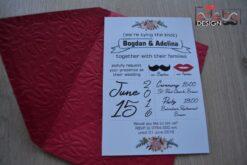 Invitatie nunta Mr. & Mrs.