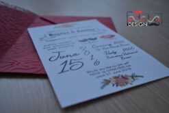 Invitatie nunta Mr. & Mrs. 3