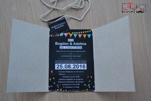Invitatie nunta Party