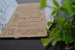 Invitatie nunta Rustic 1