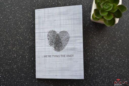 Invitatie nunta The Knot 1