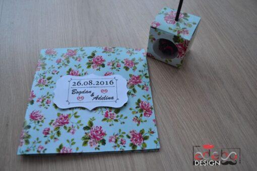 Invitatie nunta Tiffany