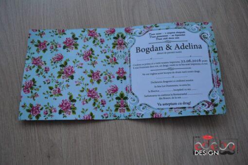Invitatie nunta Tiffany 2