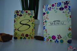 Meniu nunta Flower 1