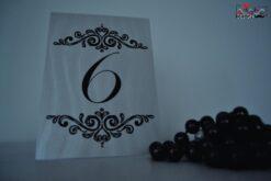 Numar masa Clasic 2