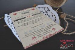 Invitatie nunta Kraft 2