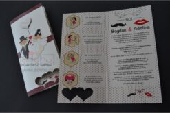 Invitatie nunta Adebo 1