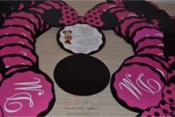 Invitatii botez Minnie - Mickey