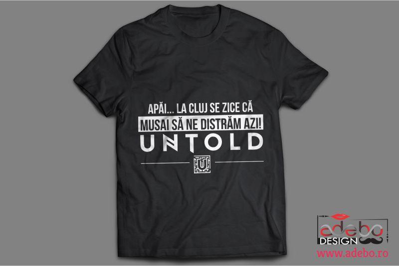 Tricouri personalizate UNTOLD Festival