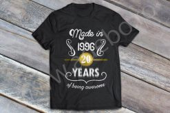 Tricou personalizat 20 ani – Made in