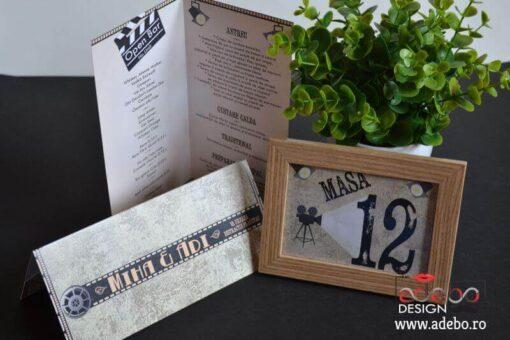 Invitatie nunta Bilet Cinema (4)