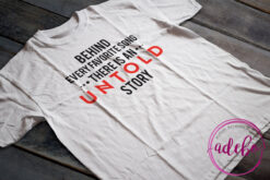 Tricou Behind every favorite song there is an untold story