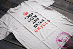 Tricou Keep Calm an enjoy Untold Festival