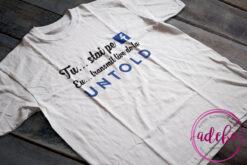 Tricou Tu stai pe Facebook eu transmit live de la Untold