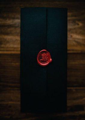 Plicuri personalizate pentru nunta - cu stampila ceara