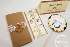 Accesorii nunta cu motive traditionale romanesti
