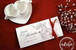 Invitatie nunta cu animatie Scuter