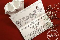 Invitatii nunta cu animatie Scuter