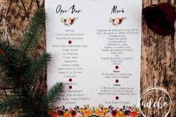 Meniu nunta Derya - buline flori