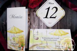 Meniu nunta - Plic bani - Nr masa Lemon (1)