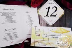 Meniu nunta - Plic bani - Nr masa Lemon (2)