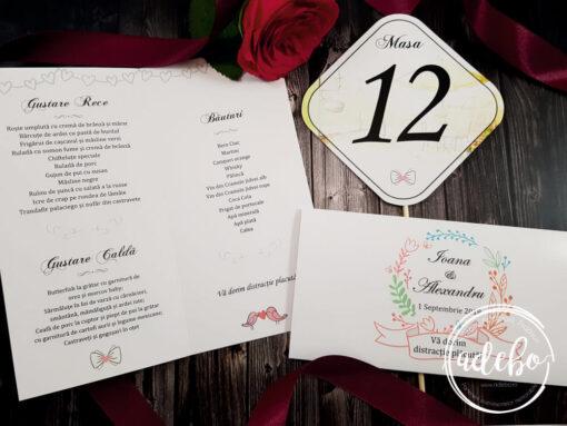 Meniu nunta - Plic bani - Nr masa Lemon (3)