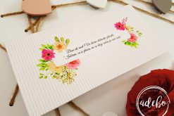 Plic bani Sibel - motive florale