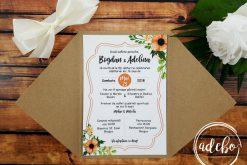 invitatie nunta kraft