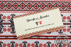 plic bani nunta - traditional romanesc