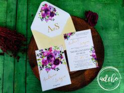 Invitatie nunta Malva