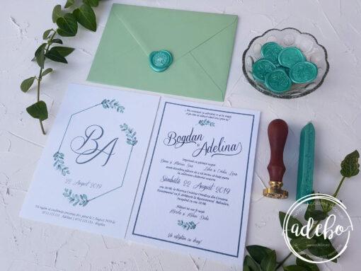 Invitatie nunta Eucalipt