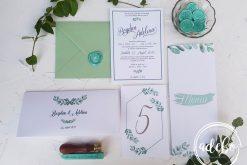 Invitatie nunta Eucalipt 5