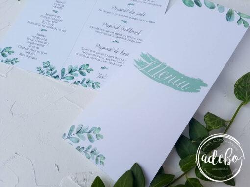 Invitatie nunta Eucalipt 6