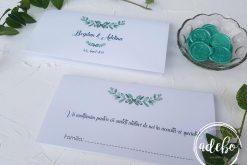 Invitatie nunta Eucalipt 8