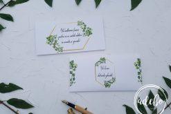 Invitatie nunta Greenery 6