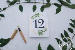 Invitatie nunta Greenery 7