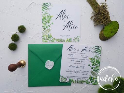 Invitatie nunta Grice