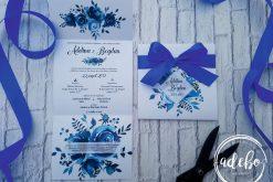 Invitatie nunta Indigo