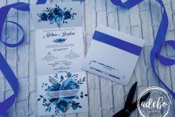 Invitatie nunta Indigo 3