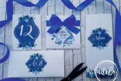 Invitatie nunta Indigo 4