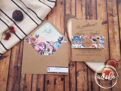Invitatie nunta Mistery