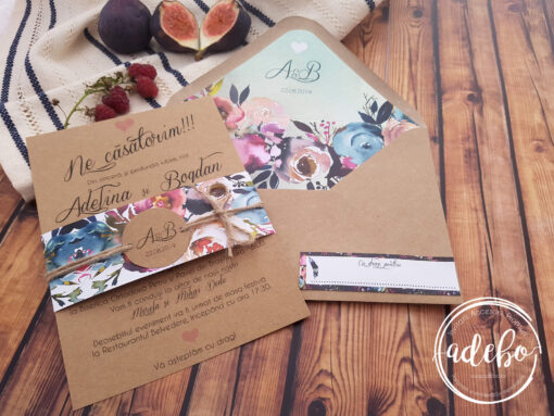 Invitatie nunta Mistery 2