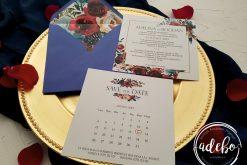 Invitatie nunta Navy 2