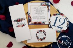 Invitatie nunta Navy 4