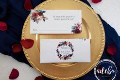 Invitatie nunta Navy 6