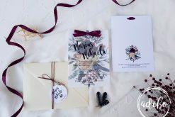 Invitatie nunta Rina