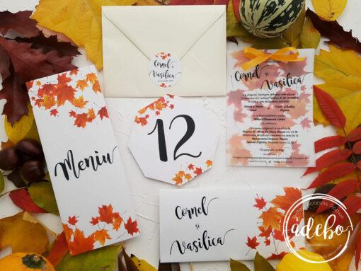 Invitatie nunta de toamna 4