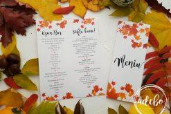 Invitatie nunta de toamna 5