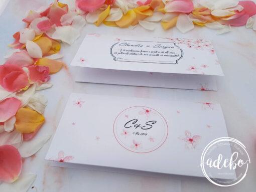 Invitatie nunta flori de cires 4